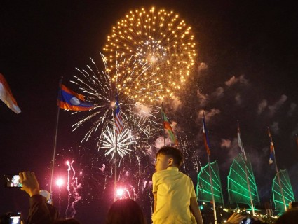New Year events in Saigon/Ho Chi Minh City on January 1st 2020