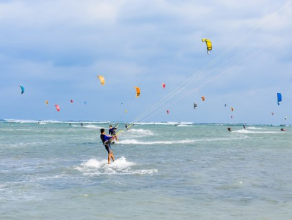 Ninh Chu - The destination of international kite surfing