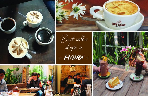 Where is the best coffee shop in Hanoi, Vietnam, Vietnamese coffee