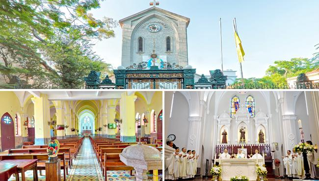 Ham Long Church in Hanoi
