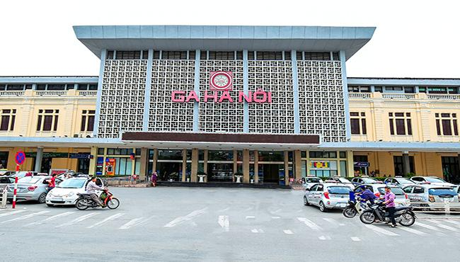 Hanoi railways station, Vietnam