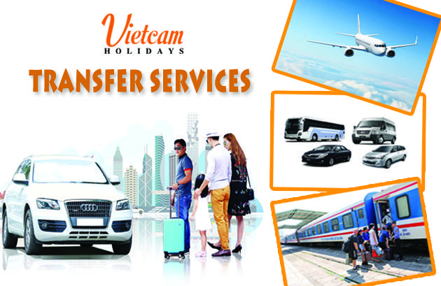 Transfer services - Vietcam Holidays, Bus transfer, railways station transfer, airport transfer